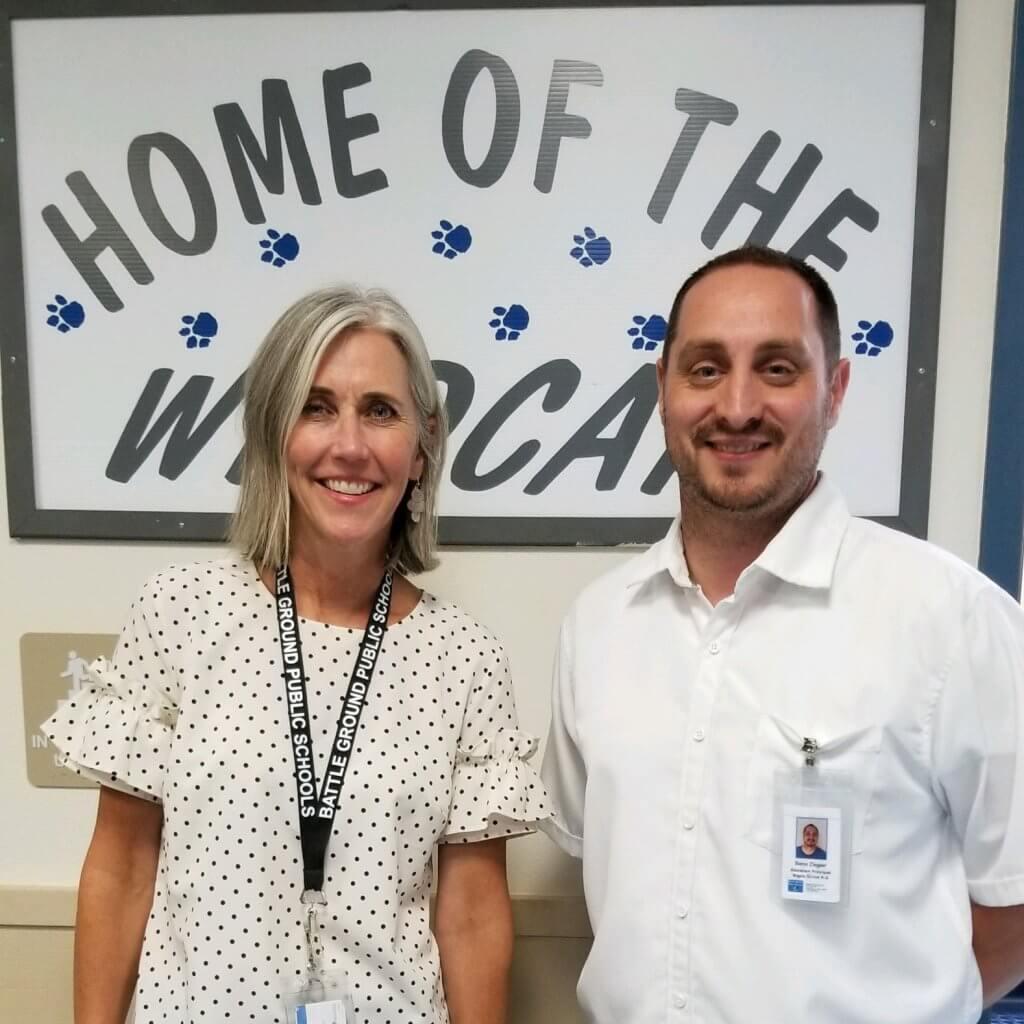 Principal Sperry and Assistant Principal Ziegler
