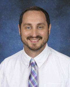 Assistant principal Ben Ziegler